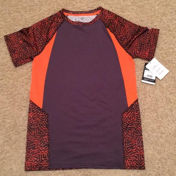 a09009868d1f BNWT boys DuoDry athletic shirt. Perfect! 12 14.